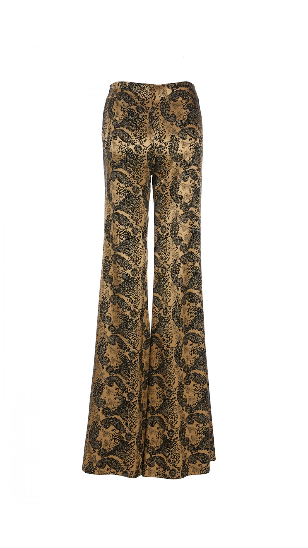 BLACK GOLD PRINTED PANTS
