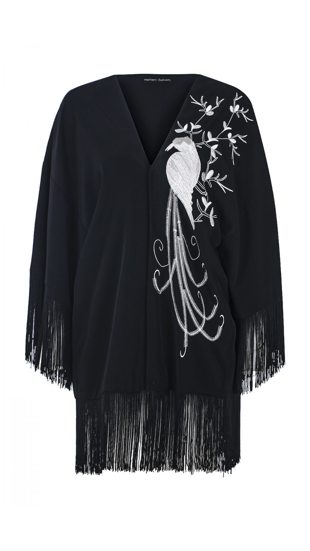 FRINGE DETAILED CAPE
